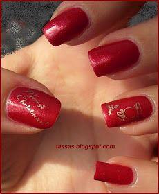Tassa's blog: Christmas Manicure