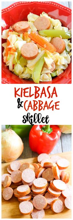 If you're looking for a flavorful dish the whole family will enjoy, make this Kielbasa and Cabbage Skillet. It's one of my new favorite meals.