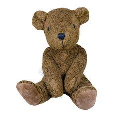 Organic Brown Teddy Bear, Brown, Made in Germany