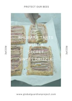 Make a sweet rhubarb tart dessert with a secret sweet drizzle with a recipe in the Protect Our Bees capsule.Our Learning Capsule contains over 40 pages of rich content, learning opportunities, recipes and art projects, plus much more!