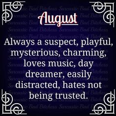 August Birthday Quotes, August Quotes, Birthday Month, Hello August, August Born, Virgo Horoscope Personality, Tarot Horoscope, Leo Zodiac Facts, Zodiac Signs