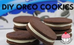 Homemade Oreo Cookies (use dough for milk n cookie shots)
