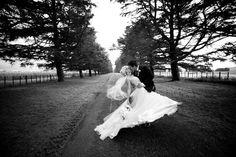 Real bride Felicity in her Elizabeth de Varga gown <3 this photo