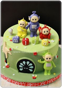 Teletubbies Cake These cake tins are for all occasions from weddings, to Christmas, Anniversaries, Birhtdays, Valentines day etc.