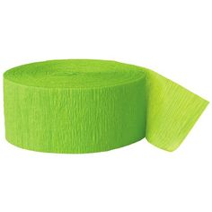 Party Streamer, 81-Feet, Lime Green Unique http://www.amazon.com/dp/B0016L2MM6/ref=cm_sw_r_pi_dp_NBFItb0AP90VPK5B