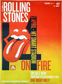 The Rolling Stones - 14 On Fire Tour - Auckland - Australia (cancelled)