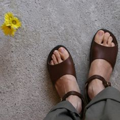 handmade new mexican leather sandals