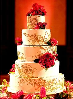 Indian Wedding Cake 7