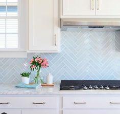 13 Perfect Ideas for Blue Kitchen Backsplashes | Hunker