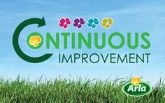 Arla Foods -     Arla required a logo and brand to promote LEAN - 'Continuous Improvement'. This was split into four sub brands Creative Design, My Design, Nature Posters, Sub Brands, Closer To Nature, Innovation, Encouragement, Environment, Branding