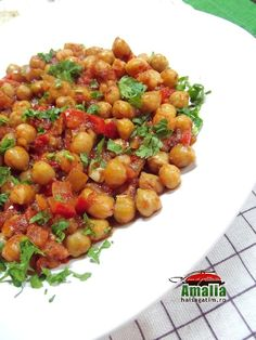 Mancare de naut 0 Indian Food Recipes, Ethnic Recipes, Falafel, Chana Masala, Pasta Recipes, Food And Drink, Pizza, Cooking, Food And Drinks