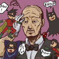 poor alfred and robins by funnara