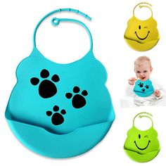 2013 new fashion little baby bibs with snaps cartoon design soft silicone kids burp cloths-in Girls from Apparel & Accessories on Aliexpress...