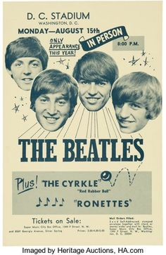 Rock Posters, Band Posters, Ringo Starr, Beatles Poster, Les Beatles, Vintage Concert Posters, Vintage Posters, Retro Posters, Motif Music