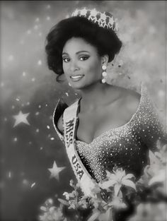 """Today In History 'Carole Gist was crowned """"Miss USA"""" on this date March 3, 1990. She is the first Black woman to win the pageant and the fir..."""