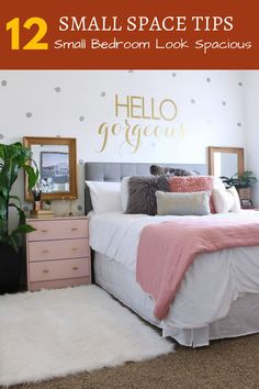How To Make The Most Of A Small Bedroom -- Visit the image link for more details.