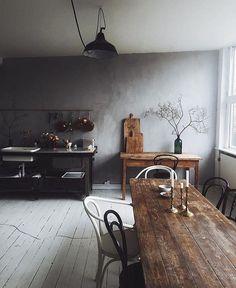 "14.8k Likes, 59 Comments - Interior & More (@interiormilk) on Instagram: ""Beautiful Studio ✨ @signebay Photo @_foodstories_"""