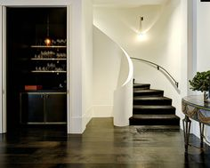Love the black stairs