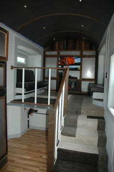 Tiny House Layout Has Master Bedroom Over Fifth Wheel