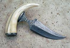 push dagger | Damascus Push Dagger