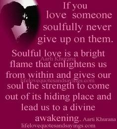 Soulful love:)