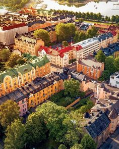 Beautiful Helsinki seen from above Omar El Mrabt (IG) Places To Travel, Great Places, Places To Visit, Visit Helsinki, Baltic Cruise, Finland Travel, San Fransisco, Tourist Information, European Tour