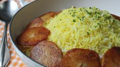 Learn how to make Persian-style Rice! Visit http://foodwishes.blogspot.com/2014/12/persian-rice-sorry-measuring-cups.html for the ingredients, more informati...