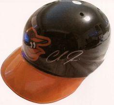 Chris Davis Autographed Baltimore Orioles Batting Helmet