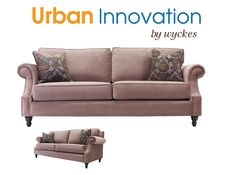 Custom Sofa Sectional Made In America Rolled Arms