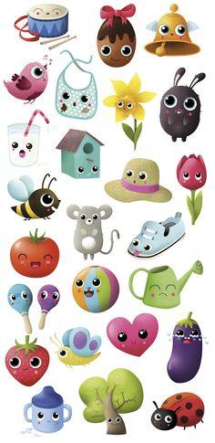 Illustrations for Tibou, a magazine for children by MKT4
