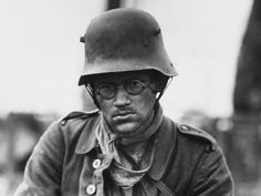 WWI. Soldier on the Western Front
