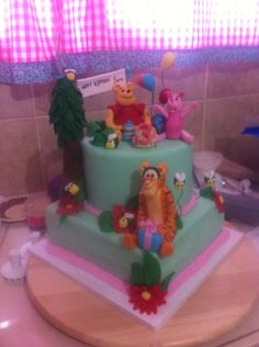 Poohe birthday cake