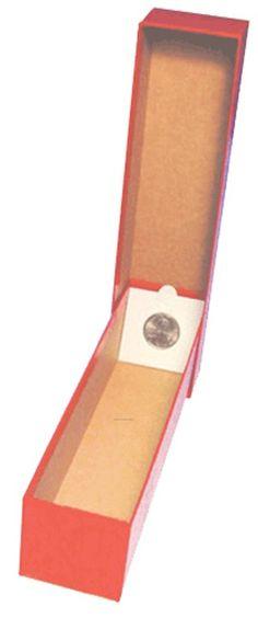 "Guardhouse Brown//Half Dollar Coin Box 2x2x8.5/"""