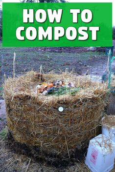 Welcome to the second installment of the composting mini series. Now that you know thegreat benefits of composthere's how to get started. At first i...  #compost #easy #healthy
