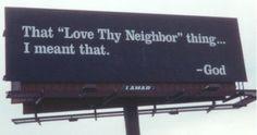 Love Thy Neighbor as Thyself Romans Love Thy Neighbor as Thyself. Leviticus Thou shalt not avenge, nor bear any grudge against the children of thy people, but thou shalt love thy neighbour as thyself: I am the Lord. Love Thy Neighbor as Thyself. Love Thy Neighbor, Love Your Neighbour, One Year Bible, Gods Love, My Love, Lord, Thing 1, Your Neighbors, Billboard