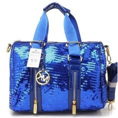 39623cf640b6 Michael Kors sequined satchel...and I don t like purses.