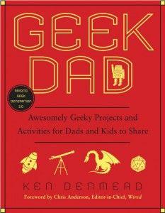 Feliz día del Padre, este libro es un gran regalo: Geek Dad, una recopilación de proyectos y actividades geek para padres e hijos. https://www.facebook.com/gikvanna