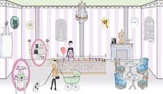 If you are ever in Paris you cannot miss La Duree it's fabulous.  They have one in NYC that I'm going to have to try.