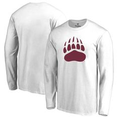 Montana Grizzlies Fanatics Branded Primary Logo Long Sleeve T-Shirt - White