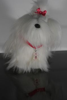 Couture Pet Charm in pretty pink glass crystal by AllAboutElegance, $10.00