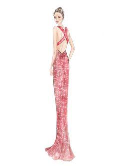 (••)                                                             Emelie by Daniella Gallistl fashion illustration