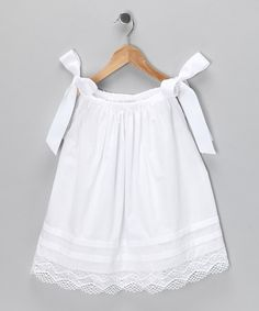 White Heirloom Dress - Infant & Toddler by Easter Boutique on #zulily today!