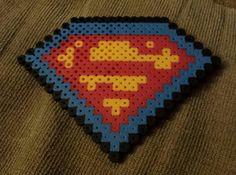 Superman Perler Beads second one ever made