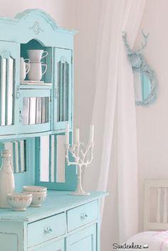 http://www.suendenherz.de/ #shabby #KitchenDresser #cupboard