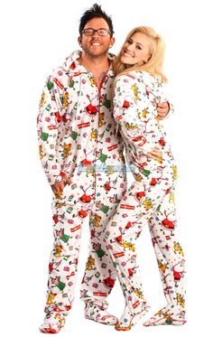 Santa Baby Hooded Footed Pajamas features  hoodie b8cd34b22