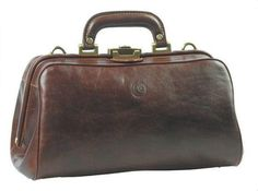 Chiarugi Milano Classic Leather Doctor Bag