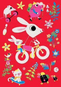 Marc Boutavant - Bicycle