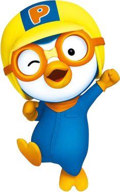 Play with pororo ! Bug Cartoon, Penguin Cartoon, Pig Birthday, 2nd Birthday Parties, Cartoon Template, Red Angry Bird, Cupcake Dolls, Pom Pom Crafts, Baby Party