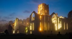 Fountains Abbey in North Yorkshire. Founded 1132, destroyed by Henry VIII