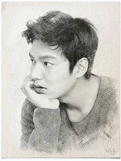 Lee Min Ho. fan-art